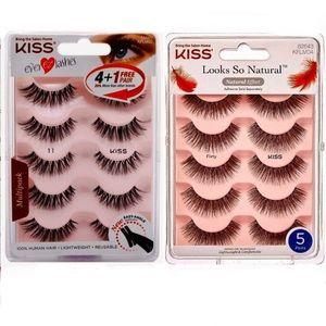 Other - Kiss eyelashes 2-packs